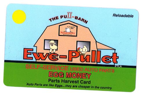 EGG MONEY CARD