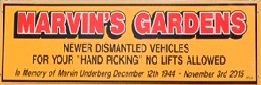 Marvin Gardens sign