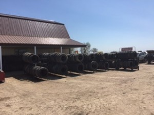 New Tire Area